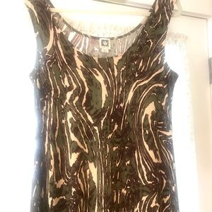 Beautiful maxi dress 2 slits each side sz L